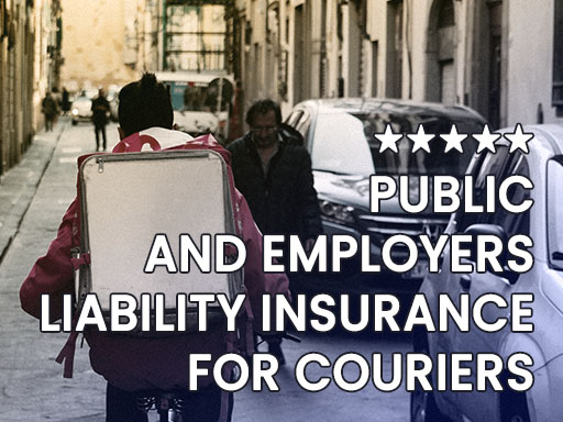 Public and Employers Liability Insurance for Couriers